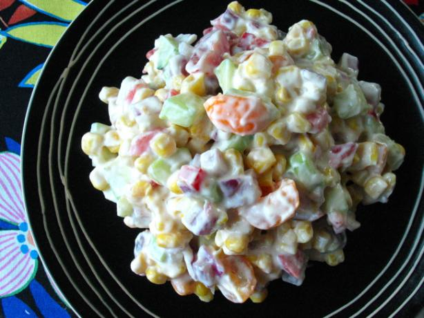 Low Fat Confetti Corn Salad
