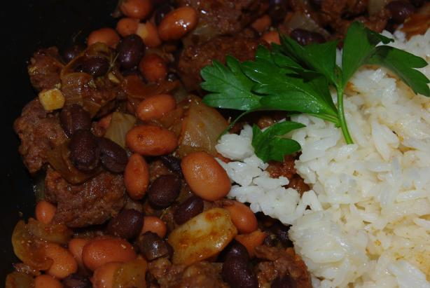 Chorizo and Beans
