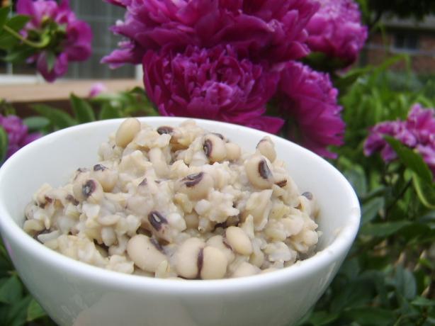 Ghanaian Waakye (Beans and Rice)