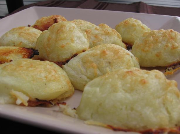 Potato Gruyere Puffs