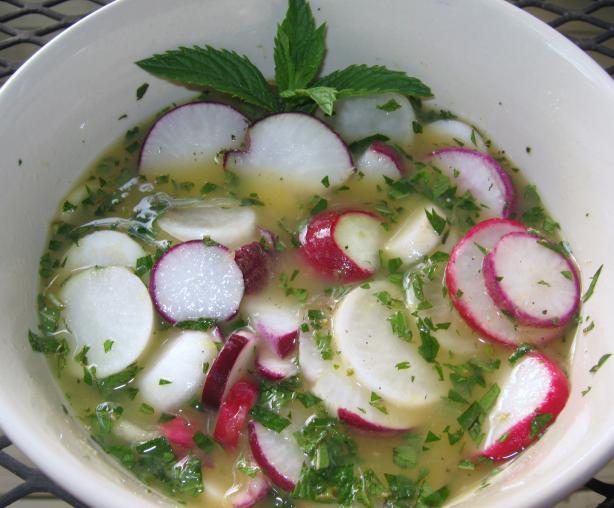 Picado De Rábano - Radish Salad
