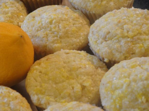 Sour Cream Lemon Muffins