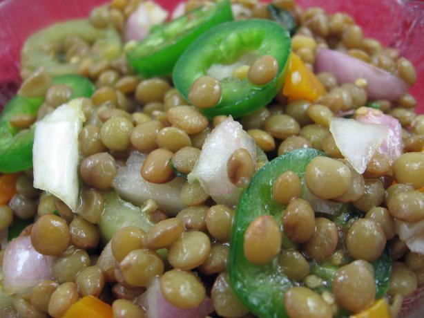 Ethiopian Lentil Salad (Azifa)