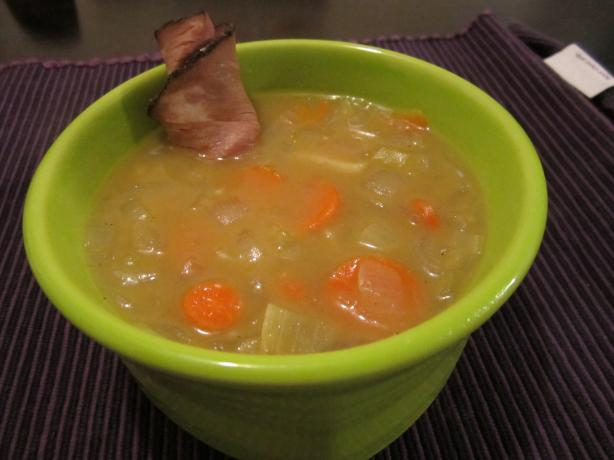Apple Wine Soup With Roast Beef