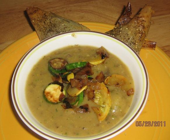 Zucchini & Potato Soup
