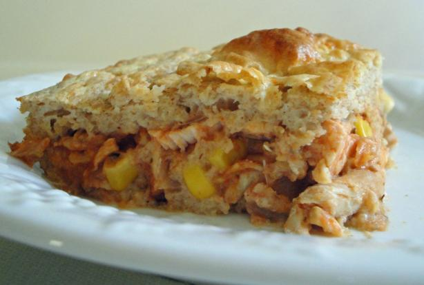 Torta De Frango - Brazilian Chicken Pie