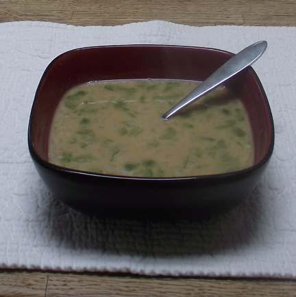 Nigerian Peanut Soup