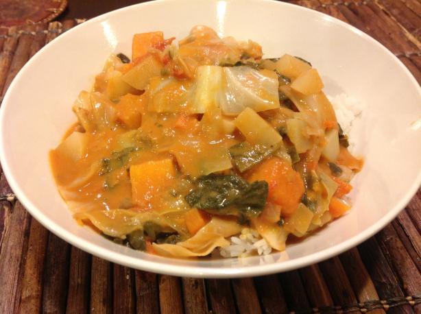 Vegetarian Mafe (African Stew)
