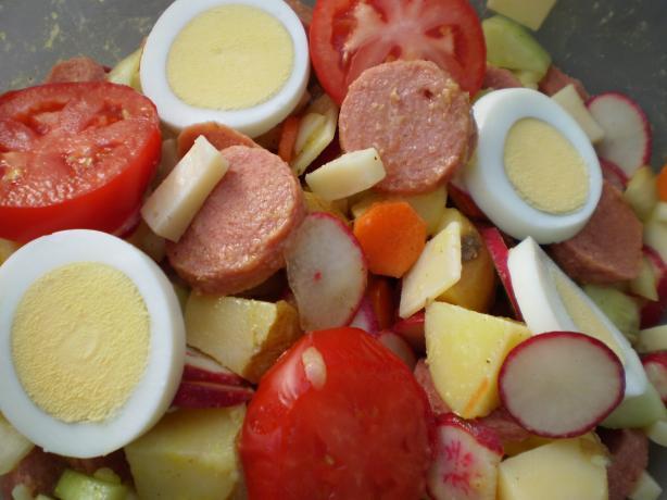 Swiss Wurstsalat (Sausage Salad)