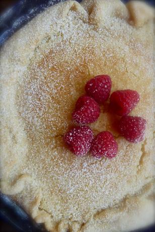 Rustic Lemon-Raspberry Tart