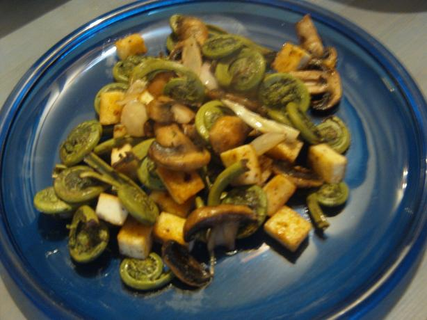 Fiddlehead Fry