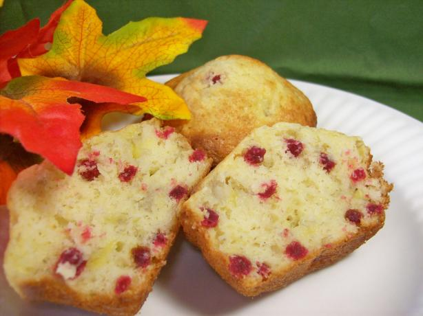 Raspberry-Banana Muffins