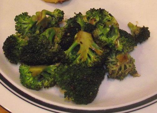 Balsamic Roasted Broccoli