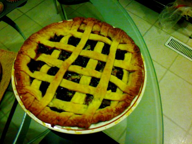 Easy Fresh Cherry Pie