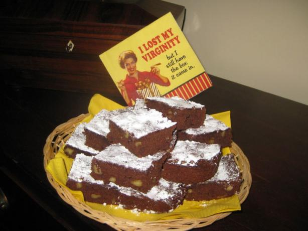 Nancy Reagan's Brownies