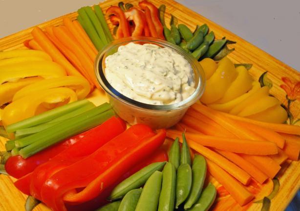 Johnny Jalapeno's Fabulous Vegetable Platter (Lite-Bleu)