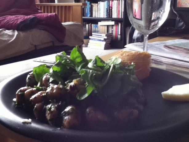 Gnocchi With Arugula, Morels, and Taleggio