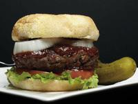 The Rickard's Cottage Burger