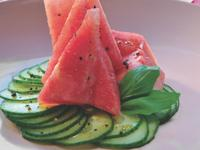 Ontario Greenhouse Cucumber & Watermelon Salad