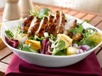 Grilled Chicken Salad With Pineapple