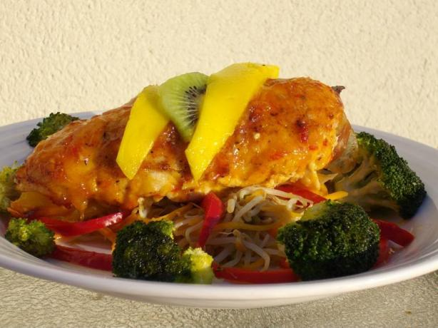 Sweet and Spicy Mango Chicken