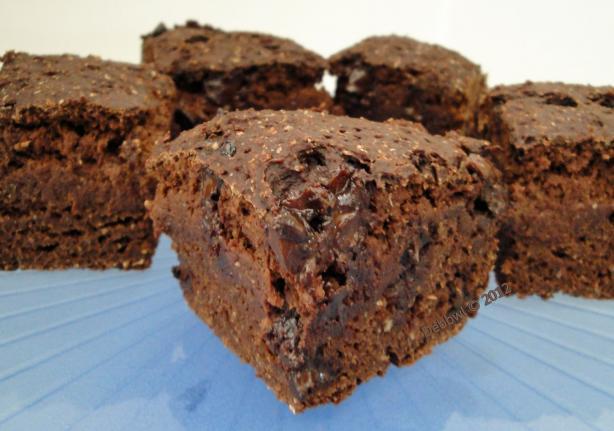Healthy Vegan Cocoa Tofu Brownies