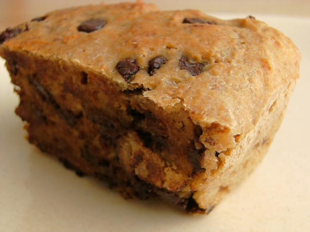 Vegan Choc Chip Blondies (Healthified)