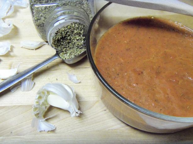 Easy Pureed Pizza Sauce