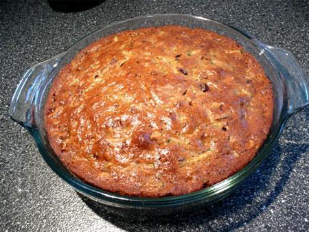 Egg Free Spiced Zucchini Cake
