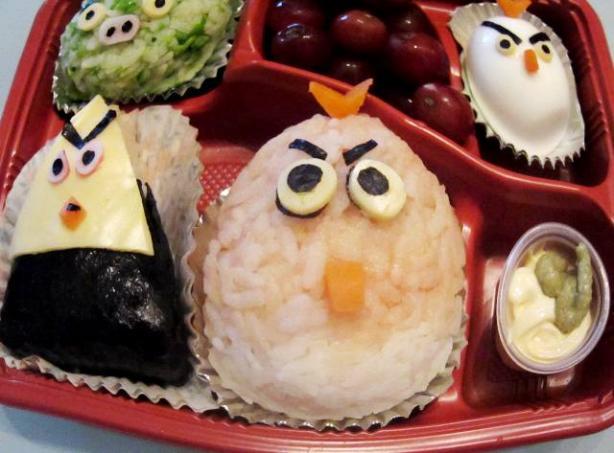 Angry Birds Onigiri Bento Box