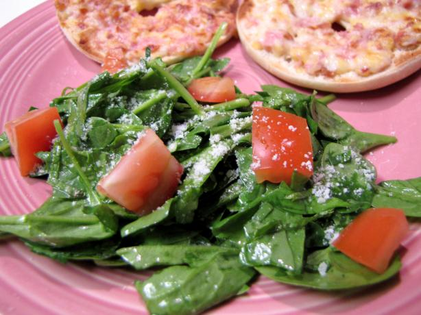 Minted Spinach Salad