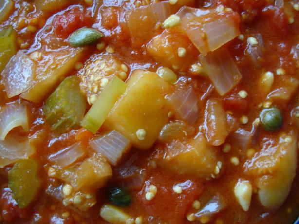 Caponata Authentic and Delicious