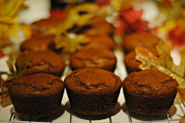 Ginger Molasses Muffins