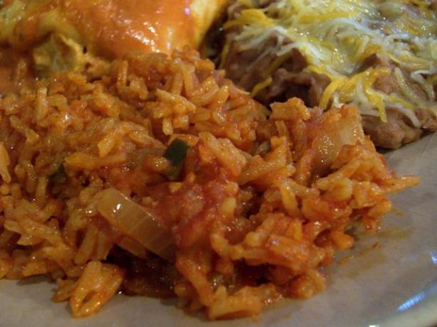 Johnny Jalapeno's Mexican Rice