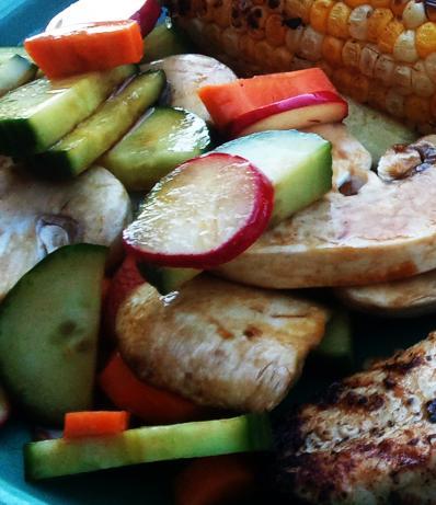 Crisp Cucumber Radish Salad