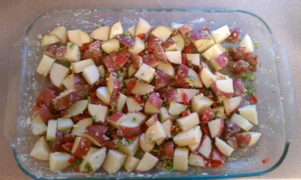 Rosemary-Jalapeño Red Potatoes