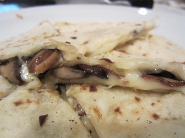Truffled Mushroom Quesadilla