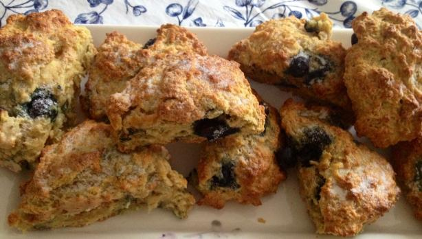 Quick Yogurt Scones