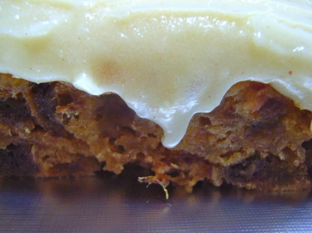 Cinnamon-Apple Cake With Hard Sauce
