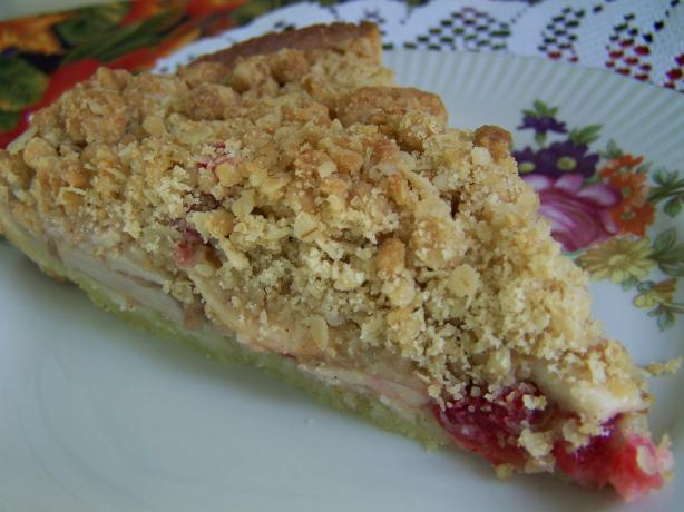 Apple-Cranberry Crumb Tart