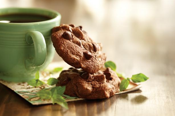 Chocolate-Mint Brownie Cookies