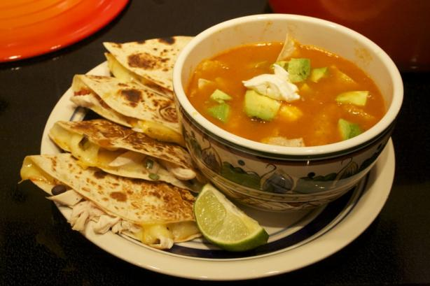Bear's Tortilla Soup