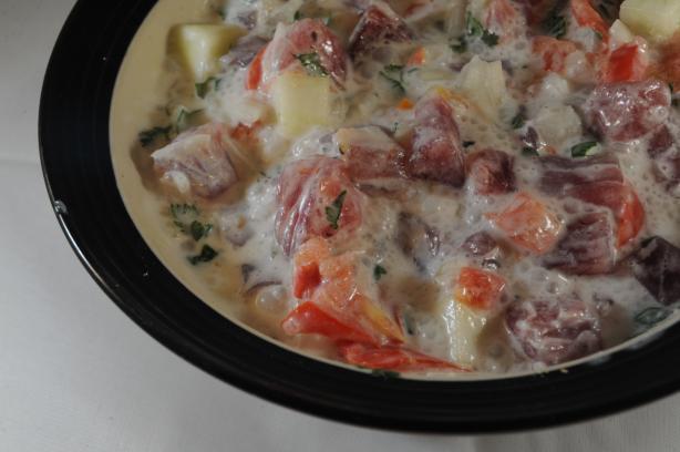 Oka Popo (American Samoa) - Raw Fish Stew