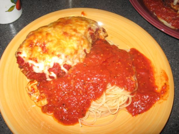 Unusual Chicken Parmesan