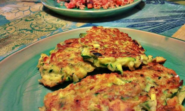 Golden Zucchini Fritters