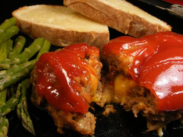 Mini Meatloaf - Low Carb