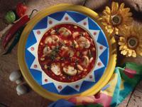 Mushroom, Tomato and Corn Chowder