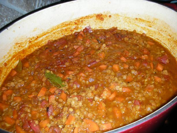 Five-Alarm Lentil Soup