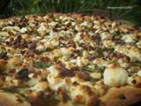 Arugula and Walnut Pizza