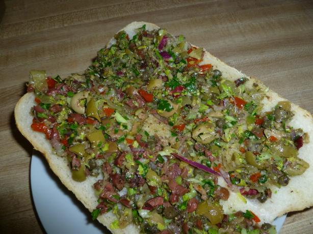 Olive Salad (Primarily for Muffuletta)